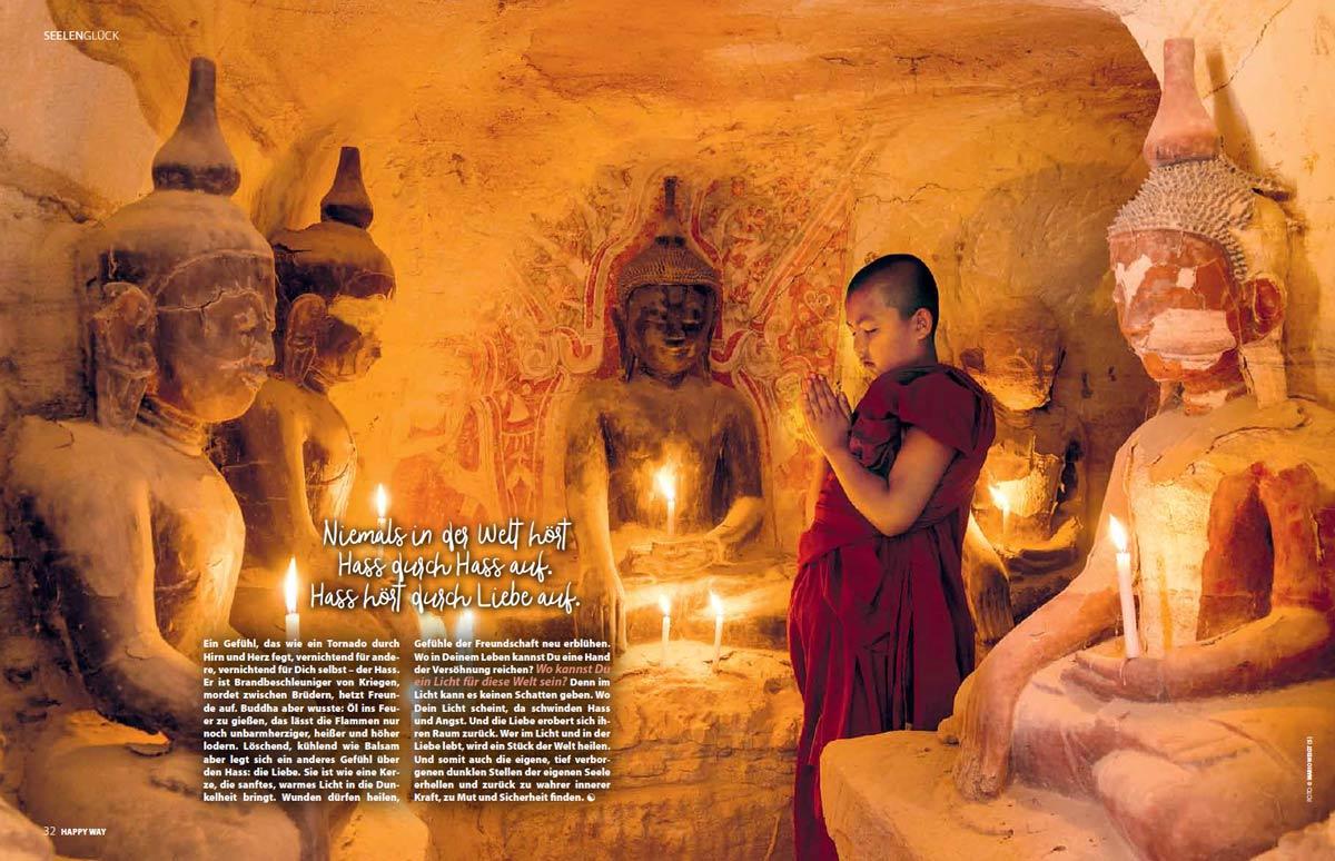 Die Weisheit Buddhas - DER ROTE SCHIRM