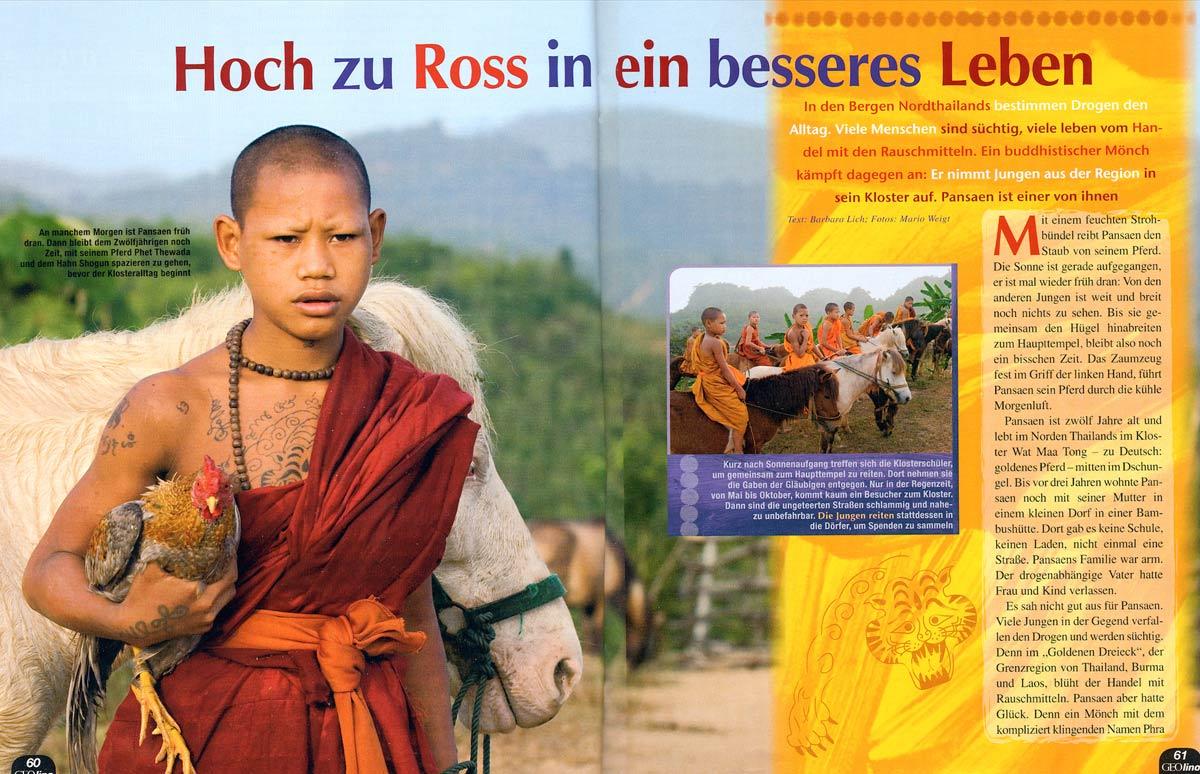 Reportage Kloster Das Goldene Pferd (Golden Horse Monastery)