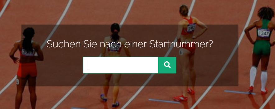 Startnummern im Onlineshop suchen