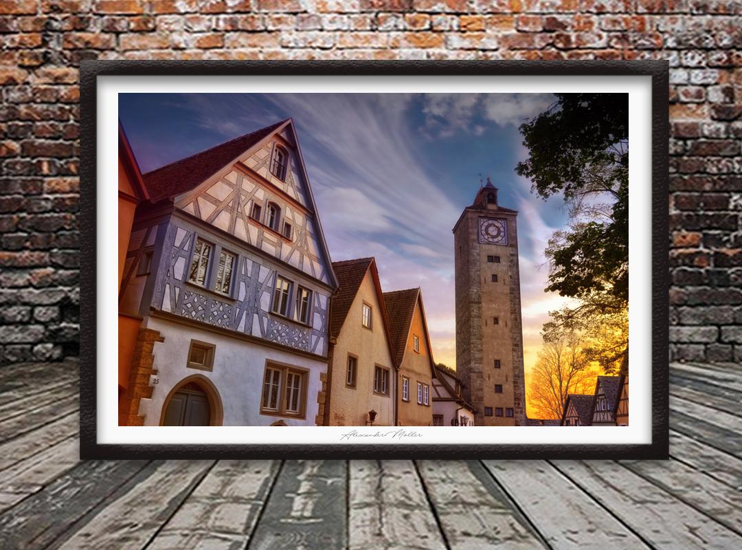 Rothenburg ob der Tauber No.100