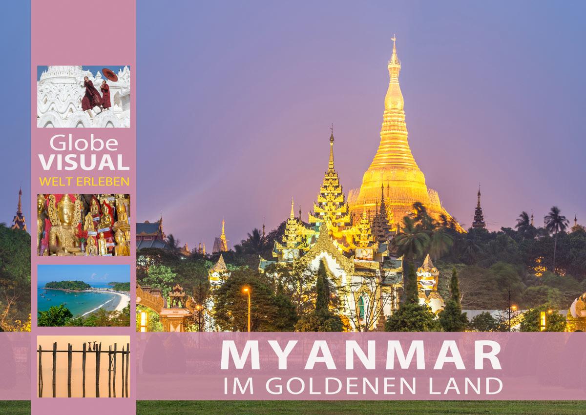 Kalender 2022 Myanmar - Im goldenen Land