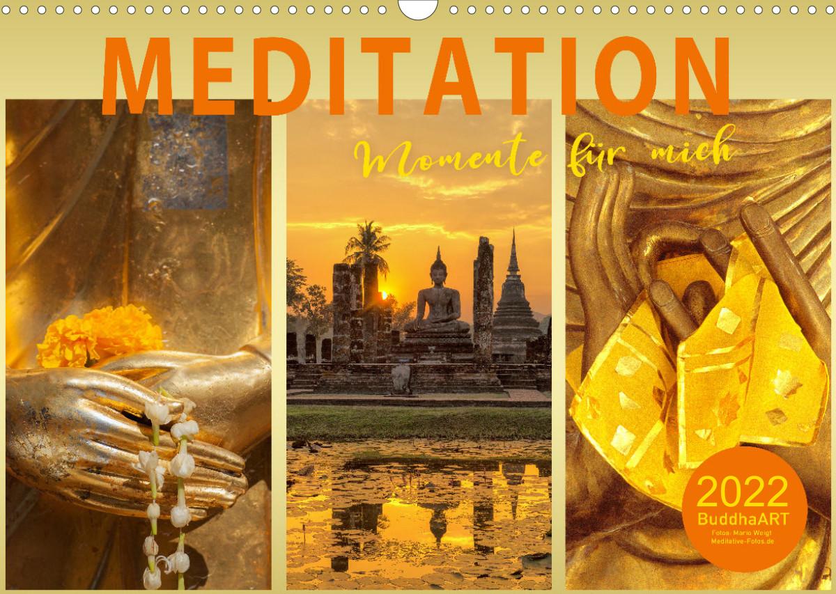 Kalender 2022 Meditation - Momente für mich