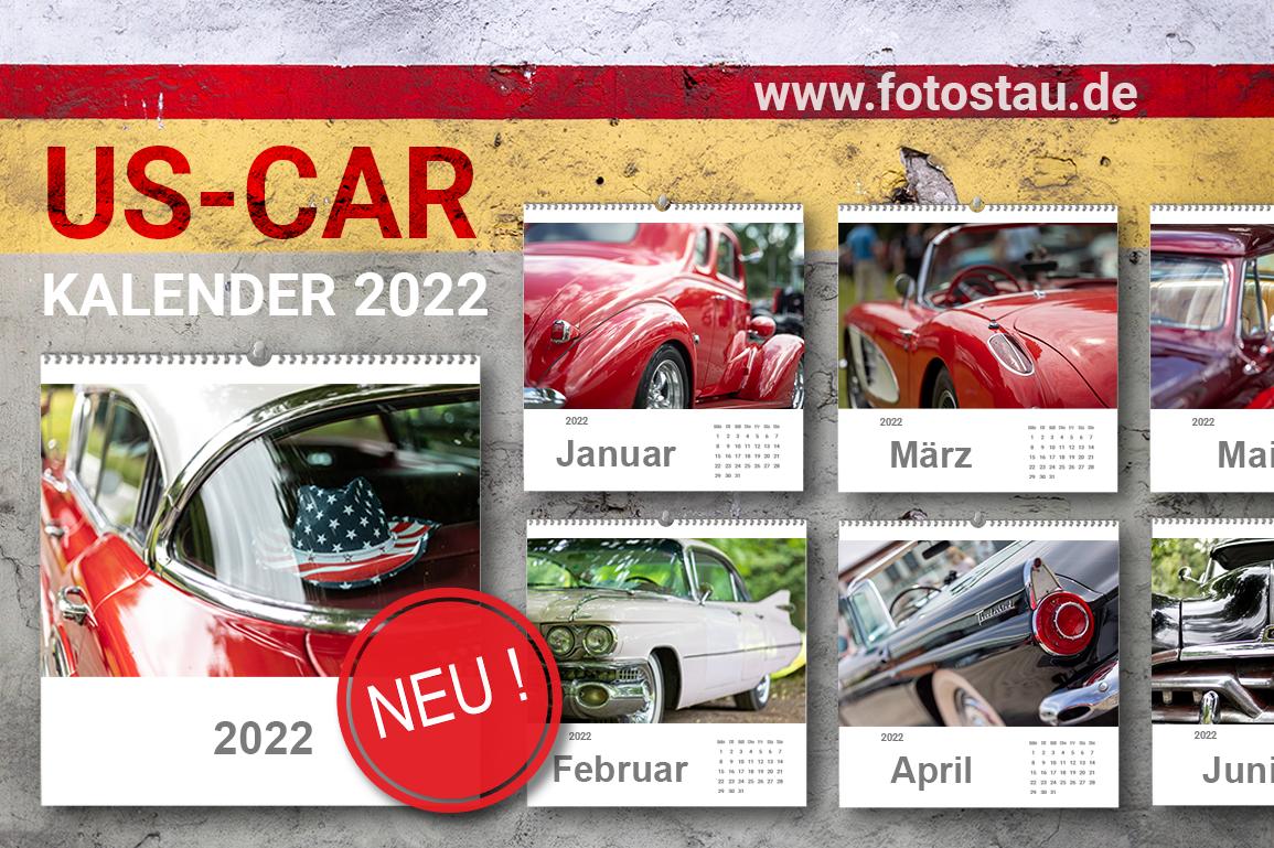 US-CAR Kalender 2022
