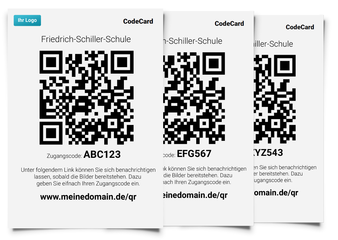 So sehen Pictrs-CodeCards aus