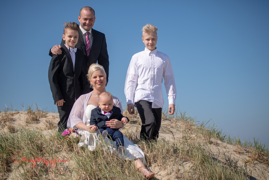 Hochzeitsfamilie