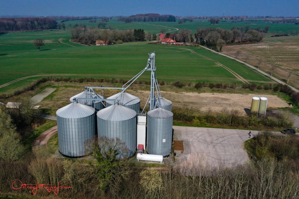 Drohnenfoto Landwirtschaft