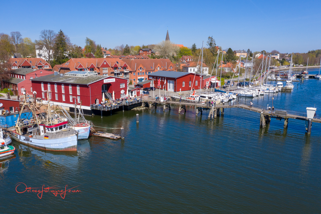 Hafen Eckernförde Drohnenfoto