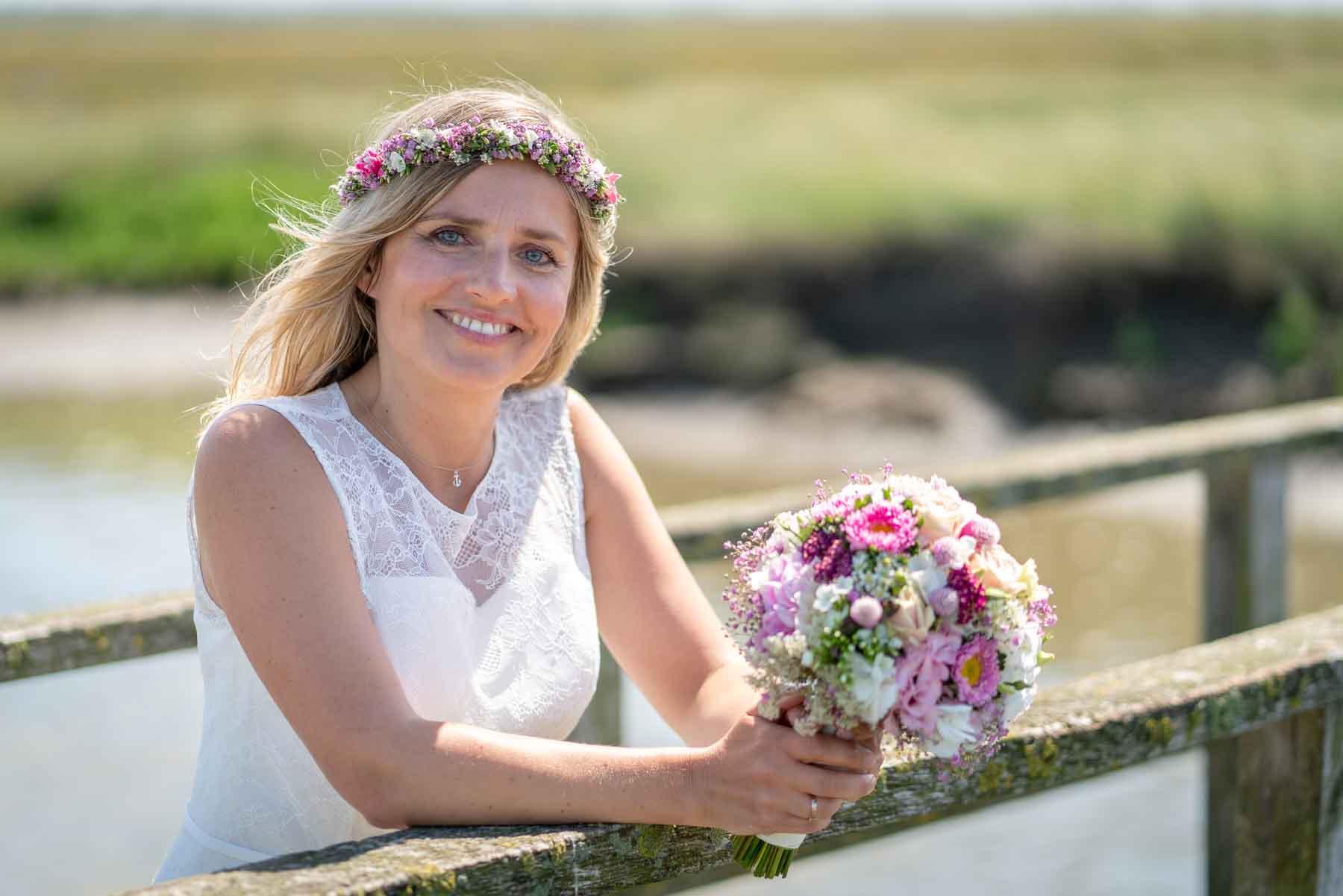 Braut in Westerhever